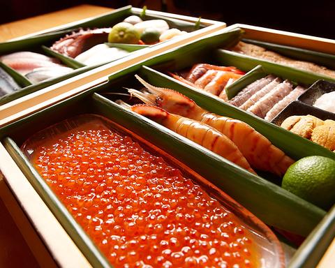 全てを職人に委ねる。おまかせの寿司とシャンパン、ワインのマリアージュ