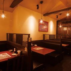 落ち着いた空間でお食事♪会社帰りにお食事をリーズナブルに美味しくお楽しみ下さい。※画像は系列店です