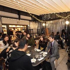 栄にオシャレで美味しい『ルーフトップビアガーデン』が登場!!◆着席40名◆立食~100名70インチのプロジェクターにマイクなどもございます。