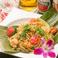 料理メニュー写真プリップリ海老のパッタイ~タイ風ライスヌードルヤキソバ~