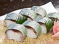 料理メニュー写真鯖寿司