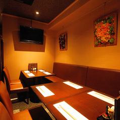 新横浜『澄仙(すみせん)』では、4名~完全個室もございます。