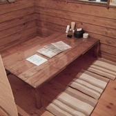 2Fには6人用テーブルを2席ご用意しております!可動式テーブルの為お席のレイアウトを自由自在に変更できます!