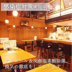 やきやき鉄板&焼鳥&三津浜焼き ひまわり 一番町電車通り店の雰囲気3