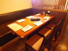 6名用テーブル