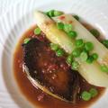 料理メニュー写真6.鴨フォアグラのソテー その日のスタイルで(+1000円)