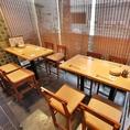 6~10名様向きの落ち着いた個室空間です。ゆったりとお食事がしたい方は是非。様々なシーンにてご利用いただけます。歓迎会や送別会、接待等にも最適です。
