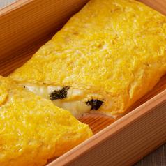 料理メニュー写真韓国のりとチーズの出汁巻玉子