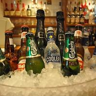 ビアテラスできんきんに冷えたビールで乾杯♪