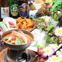 本格アジアの創作料理!