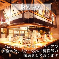 やきやき鉄板&焼鳥&三津浜焼き ひまわり 一番町電車通り店の雰囲気1