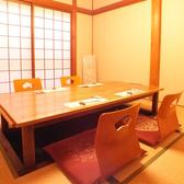 【一階奥完全個室】4~6名様までご利用いただける完全個室。