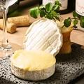 料理メニュー写真カマンベールチーズのフォンデュスタイル