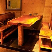 【テーブル席】2名様~6名様の少人数でもお気軽に♪