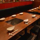 4名~6名様用テーブル席