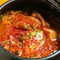 料理メニュー写真【壺入り】特製味噌のスンドゥブ鍋 ※2人前~