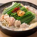 料理メニュー写真<博多名物鍋>■もつ鍋