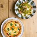 料理メニュー写真フレッシュバジルとモッツァレラチーズのマルゲリータ