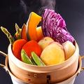 料理メニュー写真華野菜の盛り合わせ