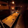 【4F】掘り炬燵タイプの宴会個室 8名~12名様ご宴会向けの個室です。落ち着いた雰囲気の完全個室ですので、気心の知れたご友人との各種宴会に最適です。