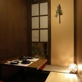 【完全個室】個室は2名様~ご利用いただけます!!2名様個室も充実、寛げるプライベート空間です!