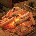 本格備長炭で焼き上げる串焼き・鰻は絶品