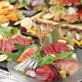 【宴会コース】九州が堪能できるコースは2980円~ご用意しております!