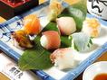 姫寿司はいかがですか?一口サイズで食べやすい大きさのお寿司です!〆にもピッタリ!!