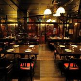 テーブル個室利用は15名×4(60名様)15名×2(30名様)の2パターンのご用意4名×4テーブル 6名×4テーブル