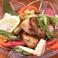 京丹波地鶏のグリル 野菜のせ