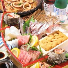 食彩や 魚太郎のコース写真