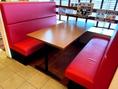 6名様迄ご利用いただけるソファテーブル★落ち着いた雰囲気でお食事をお楽しみ頂けます