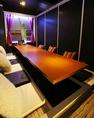 世界各国壁画のある個室20名席