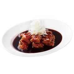 料理メニュー写真鶏の黒酢ソース