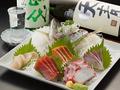 料理メニュー写真【築地直送】厳選の鮮魚盛り合わせ(写真は大磯盛りです)