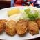 料理メニュー写真広島産カキフライ