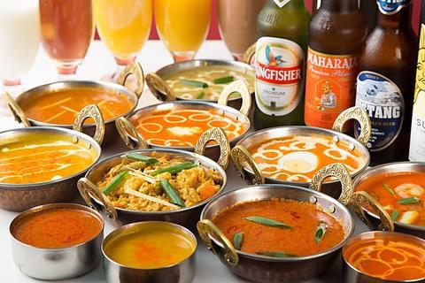 スパイスからこだわった本場インド料理をご堪能ください♪
