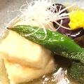 料理メニュー写真米なす・豆腐・才願寺の揚げ出しみぞれあん