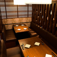 インテリアにこだわったオシャレな店内は女子会にもピッタリ!雰囲気ある快適なお席でいつもとひときわ違うお食事をご堪能頂けます。
