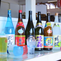 ◆泡盛やオリオンビールをお楽しみください☆