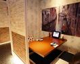 世界各国壁画のある個室