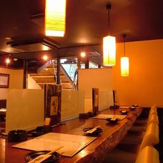 お一人様もお気軽にどうぞ♪カウンター席のみの日本酒メニューもご用意しています。
