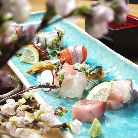 癒しの和風空間で、彩り美しい料理をご堪能ください