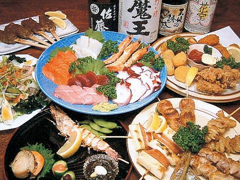 《飲放》120分付きコース4000円→2980円◆料理全16種+「あさりごはん」もついてます♪