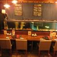 生け簀も完備しておりますので、新鮮な長崎産を中心とした魚介類をお楽しみいただけます。