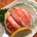 料理メニュー写真地物香箱蟹
