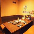4~6名用テーブル席