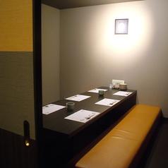最大6名様までの個室席はご友人との飲み会や職場の同様との宴会にもご利用いただけます。