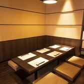 【全席個室】落ち着いた雰囲気の掘りごたつ個室は会社宴会や接待、観光、大切な記念日など様々なご利用に最適でございます。2名~6名
