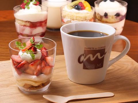 豊富なカップケーキとコーヒーをカジュアルに楽しむお店
